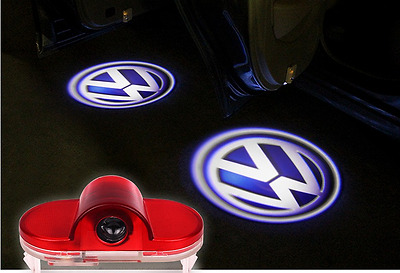Led Sottoporta Logo Vw Golf  2 Proiettore Luce Di Cortesia Golf 4 Iv