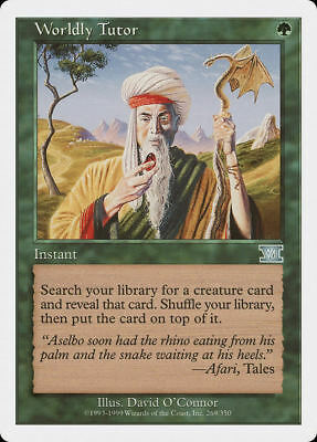 1x WORLDY TUTOR - Rare - 6th - MTG - NM - Magic the Gathering