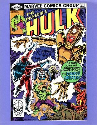 Incredible Hulk #259  --  Soviet Super Soldiers -- --  FN/VF  cond.
