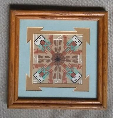 Navajo Sand Painting by Fred Hayes