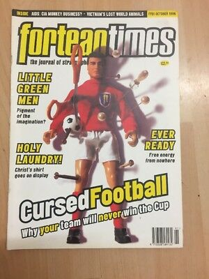 Fortean Times Magazine FT91 October 1996 Little Green Men etc