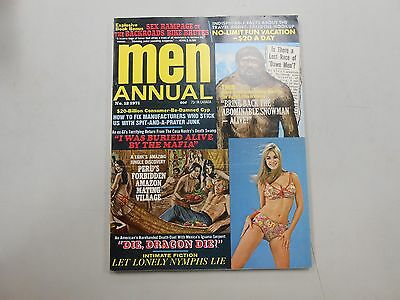 Men Annual #12 1971! Very rare Men's interest magazine from the Bronze age! LOOK