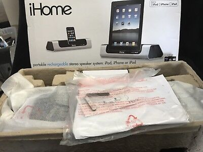 IHOME ID9 APP-FRIENDLY 30-Pin iPod/iPhone/iPad Speaker Dock