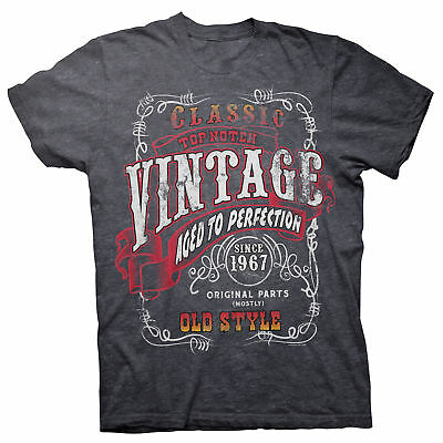 Vintage 1967 Aged To Perfection - STURGIS - 51st Birthday Gift T-shirt