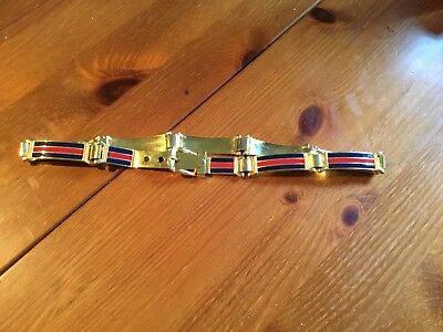 VINTAGE GUCCI Womens Gold Tone Belt
