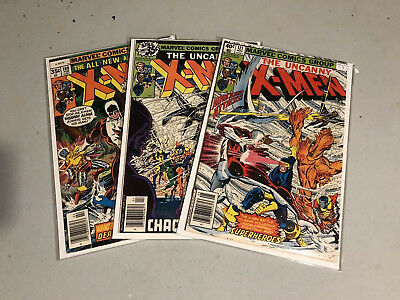 UNCANNY X-MEN 109,120,121 1st appearance of Alpha Flight 1979 in g/vg range