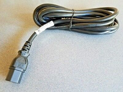 6ft 10A 250V IEC-C14 to C13 power cords 17AWG Well Shin Lot of 25