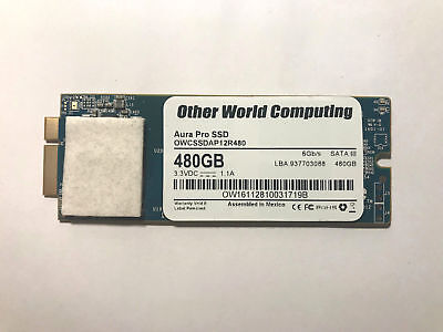 OWC Mercury Aura 6G 2012/Early 2013 480GB, low profile SATA (OWCSSDA12R480)