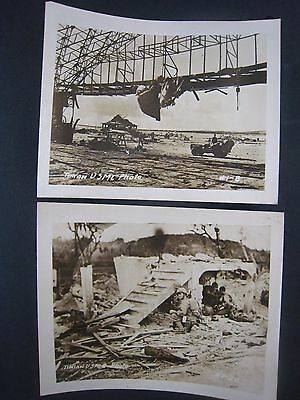 Vintage WW2 PHOTOS...lot of 2...USMC....# 567-181...5x4