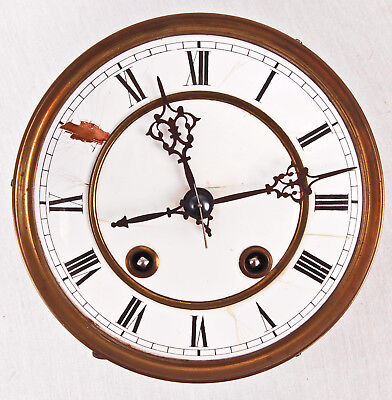 Lenzkirch R-A spring Vienna regulator wall clock movement only @ 1890