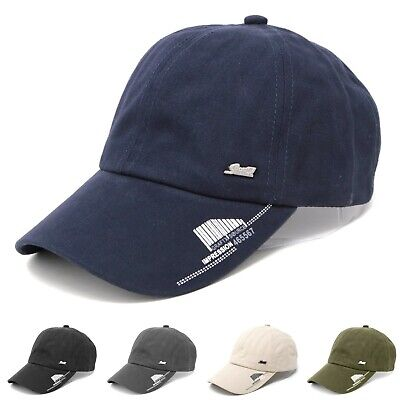 Men's 100% Cotton Curved Brim Washed Sports Baseball Cap Army Hat Adjustable