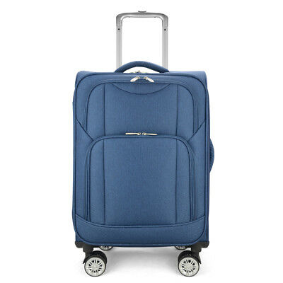 """Eaglemate 24"""" Luggage Suitcase Trolley Set Travel Carry On Bag Soft Lightweight"""