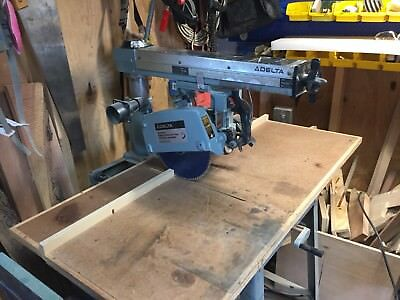 Delta Deluxe Model 10 Radial Arm Saw