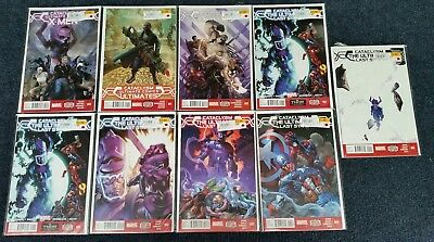 Cataclysm Ultimate Comics Last Stand the Ultimates Xmen Hulk Spiderman 1 2 3 4 5