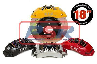 Ford Falcon Auii Irs-Fgx 4 Pot 355Mm Fixed Rotor Rear Big Brake Kit Bbk
