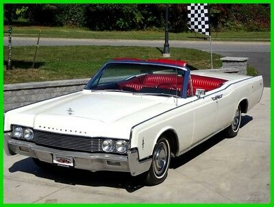 1966 Lincoln Continental Continental 1966 Lincoln Continental Retractable Top Suicide 4-Door Convertible Low Reserve