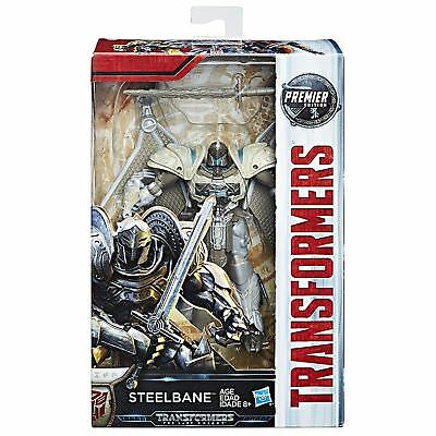 STEELBANE last knight transformers 5 premier edition action figure NEW dragon