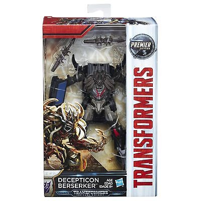BERSERKER last knight transformers 5 premier edition action figure NEW deluxe