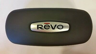 New REVO Eyeglasses Sunglasses Black Hard Case