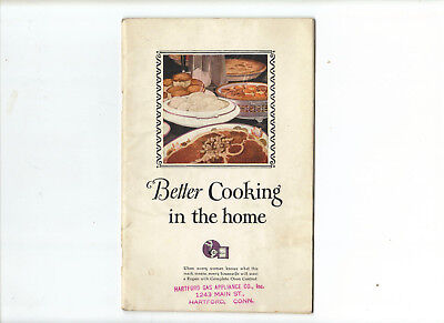 Roper Gas Ranges Better Cooking in the Home Vintage 1925 Advertising  Cookbook