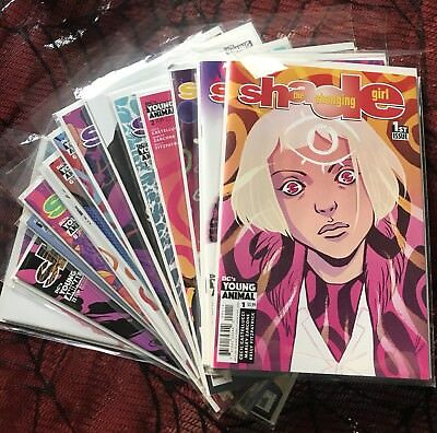 Shade The Changing Girl Full Run 1-12 + VARIANTS Becky Cloonan Cecil Castellucci