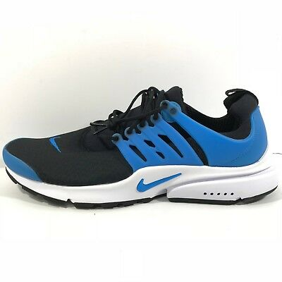 info for 44238 53848  120 NIKE AIR PRESTO ESSENTIAL Size 14 BLACK WHITE PHOTO BLUE 848187-005  Casual