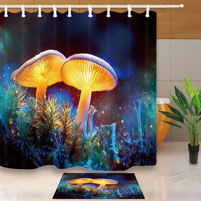 Ancient fantasy temple Shower Curtain Bedroom Waterproof Fabric /& 12hook 71*71in
