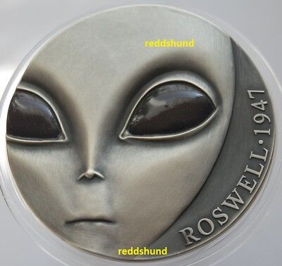70 Jahre Roswell Vorfall - UFO   3000 Fr 2017   Cameroon