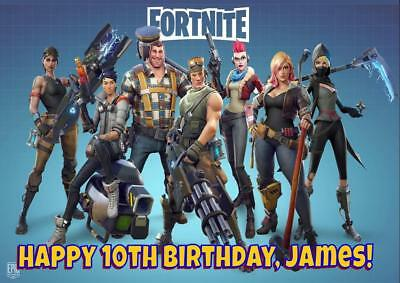 Fortnite D2 Personalised Birthday Card - Any Name Age Relation