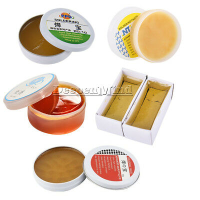 10/15/22/50g Solid Grease Rosin Soldering Flux Paste for PCB Repair WireWelding