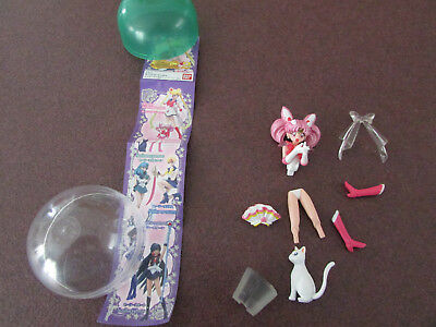 Sailor Moon Chibimoon Super with Artemis Capsule Trading Figure Toy