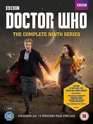 Doctor Who - The Complete Ninth Series [DVD] New UNSEALED MINOR BOX WEAR