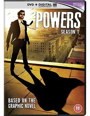 Powers - Season 1 [DVD] New UNSEALED