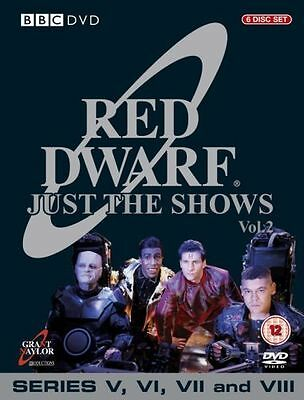 Red Dwarf - Just The Shows Series 5-8 6 Disc Box DVD New UNSEALED MINOR BOX WEAR