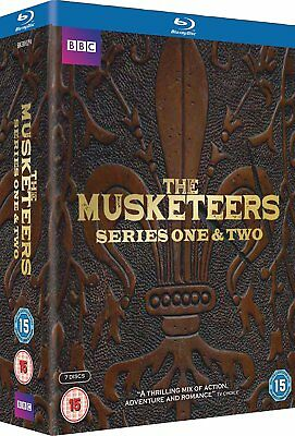 The Musketeers - Series 1-2 [Blu-ray] New UNSEALED MINOR BOX WEAR