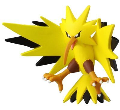 """Takaratomy Official Pokemon X and Y MC-051 2"""" Zapdos Action Figure"""