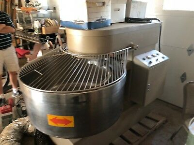 Spiral Dough Mixer 120 KG OPM moline Commercial Mixing Machine
