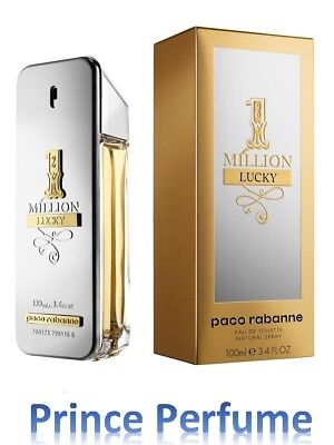 1 MILLION LUCKY PACO RABANNE EDT NATURAL SPRAY - 100 ml
