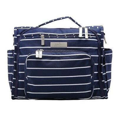 Ju Ju Be BFF Baby Diaper Bag Backpack Complete w/ Changing Pad Nantucket *NEW*