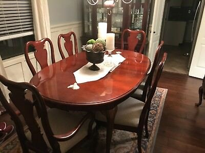 THOMASVILLE CHERRY WOOD Formal Dining Set - $1,800.00 | PicClick