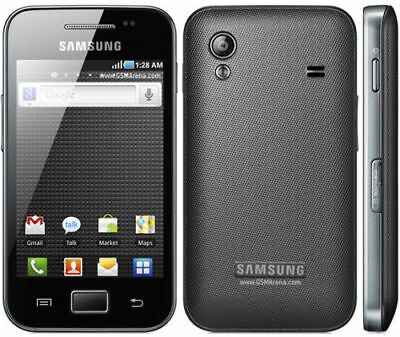 Samsung Galaxy Ace GT-S5830 - Only Black (Unlocked) Smartphone limited offer