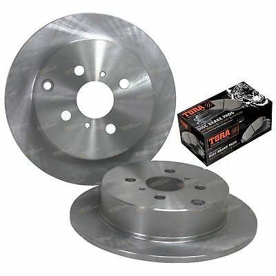 Rear Disc Brake Rotors + Pads suits Corolla ZZE122R 01~07 1.8L Japan Made Model