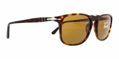 PERSOL PO3059S 24/33 Havana Tortoise wBrown 54mm Lenses Sunglasses Made In Italy