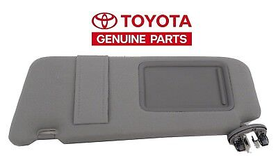 Toyota Camry 2007-2011 New Gray Drivers Side Sun Visor With Sunroof
