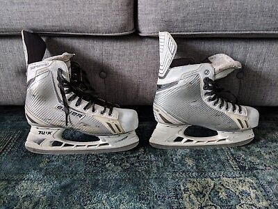 Bauer Supreme One 6 Limited Edition Ice Hockey Skates White Size 7 5