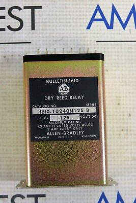 Allen Bradley 1610-To24On125 Dry Reed Relay 125V Dc Series B