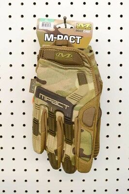 Mechanix M-Pact Impact Protection Tactical Multi Camo Gloves (MPT-78-011 XL)