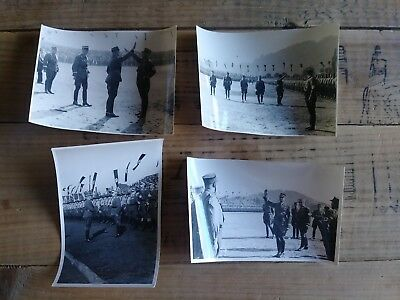 "Vintage WWII photo WW2 picture German Germany 4 1/2"" x 3""  Lot of 4"