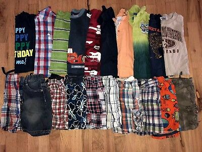 Baby boy Clothes 24-2T Months Summer Clothes Outfit Lot 20 pieces.