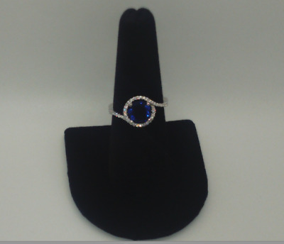 Silver Ring with Zirconia